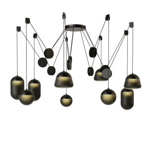 Planets Pendant Lamp PC1242 by Brokis