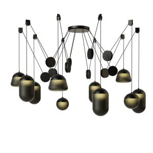 Planets Pendant Lamp PC1243 by Brokis
