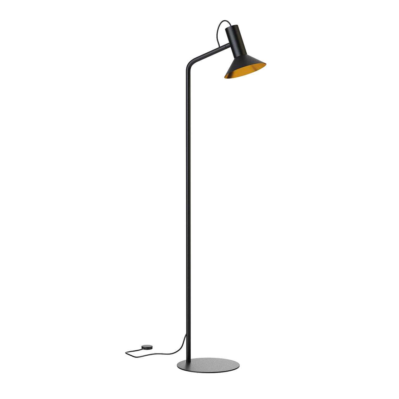 Roomor 1 Floor Lamp 638120BK1 by Wever Ducre