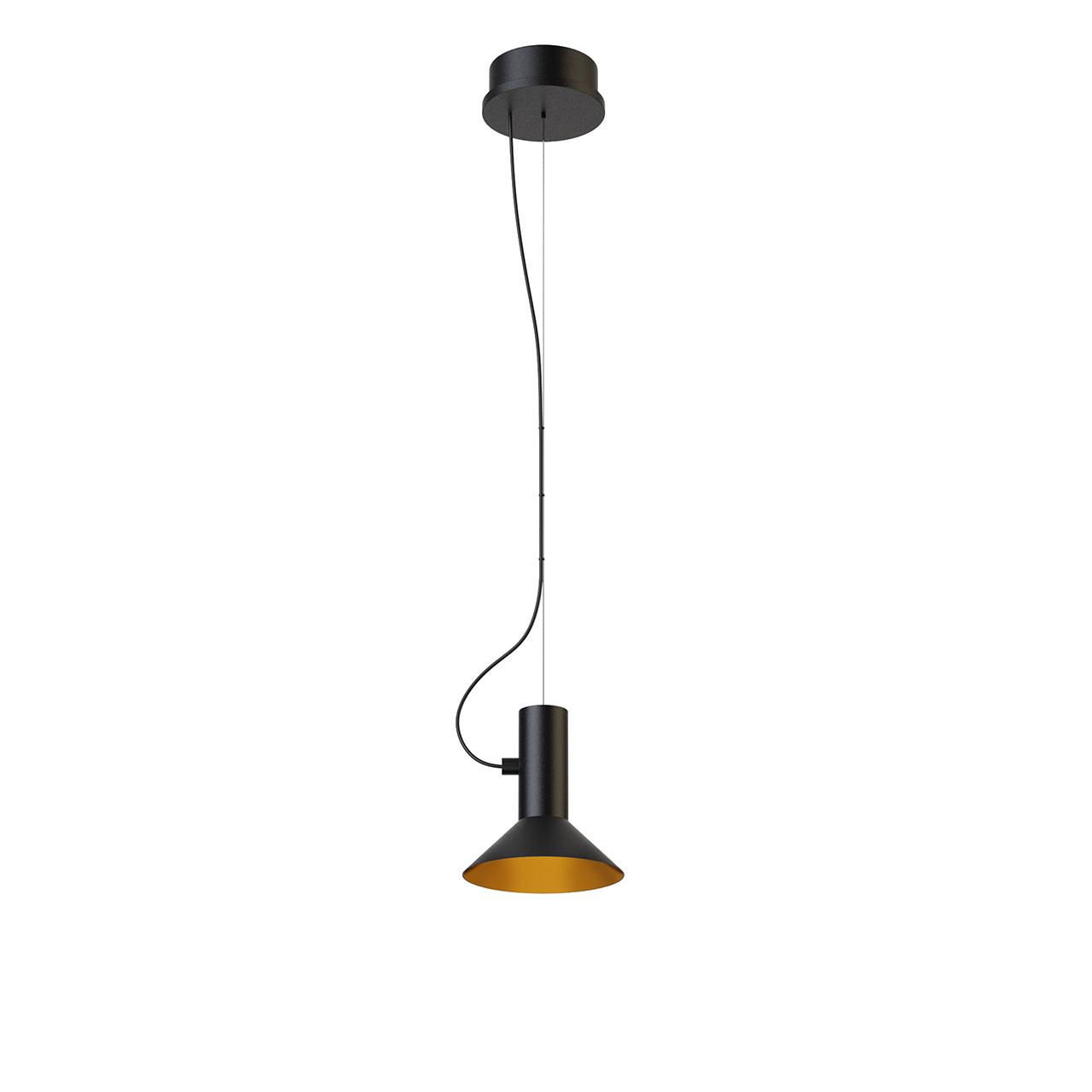 Roomor 1 Suspended Light 2481E0BK1 by Wever Ducre