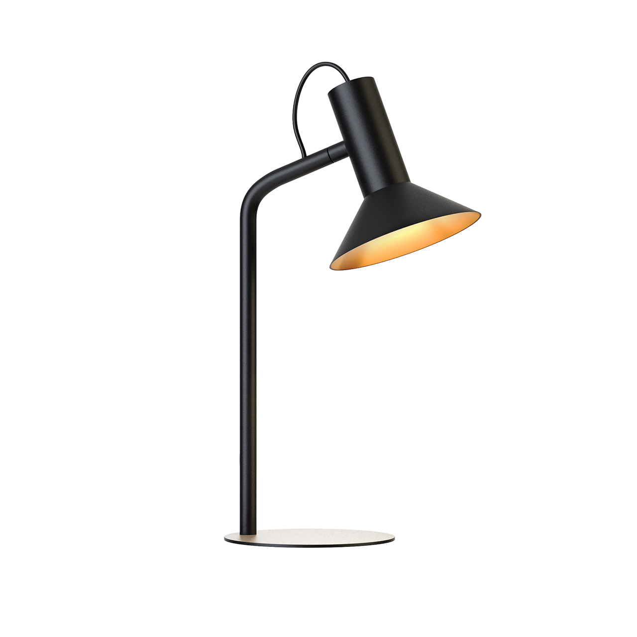 Roomor 1 Table Lamp 637120BK1 by Wever Ducre