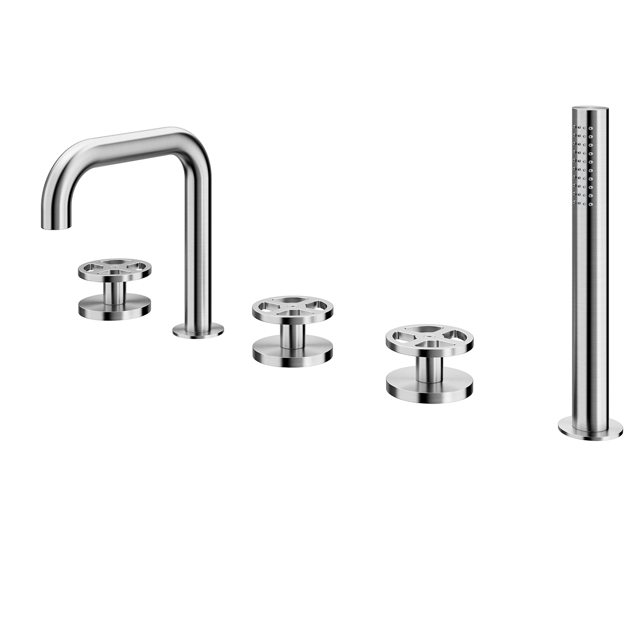 Valvola02 Bathtub Shower Set 20 98 by Quadrodesign