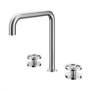 Valvola02 Washbasin Mixer 20 32 by Quadrodesign