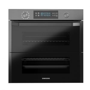 Built-in Oven With Dual Cook Flex Black 75L by Samsung