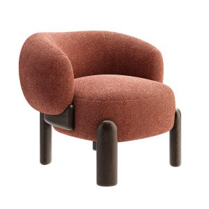 Moon Slipper Chair by Philippe Hurel