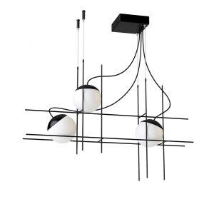 Plot Frame SP LED Pendant Lamp by Vistosi