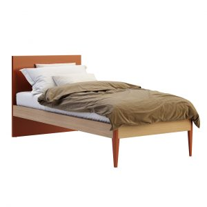 Nuk Single Bed Woody by Nidi
