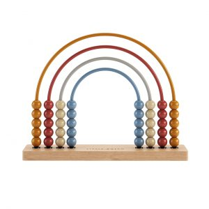 Rainbow Abacus Pure & Nature Toy by Little Dutch