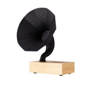 Natural Oak Phonograph by Acoustibox
