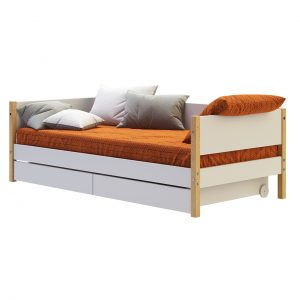Nor Daybed with Drawers 90x200cm by Flexa