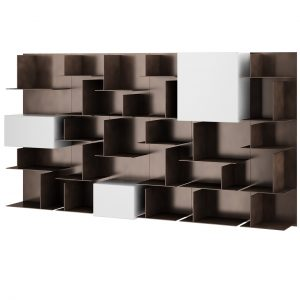Avenue Bookcase 300 L by MD House